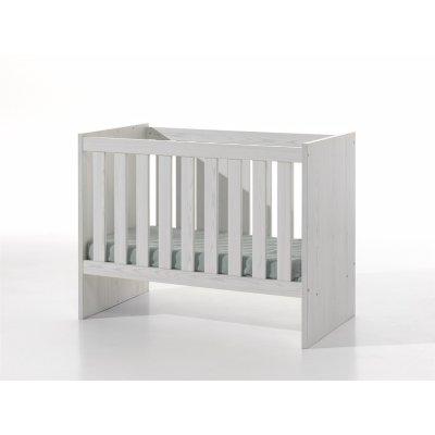 Babybed wit (omvormbaar) - 60x120
