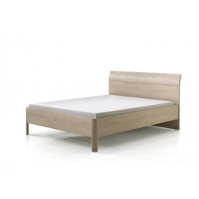 Bed hout (incl. middenlat) - 160x200