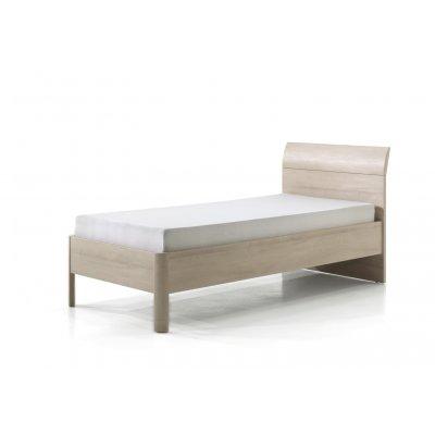 Bed houtkleur - 90x200