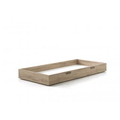 Bedlade houtkleur - 90x200