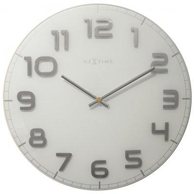 Klok glas wit