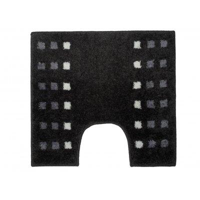 Wc-mat brica donkergrijs (60x55)