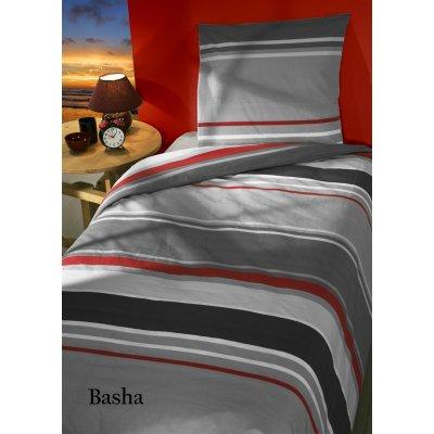 Overtrek basha rood éénpersoons flanel (140x220)