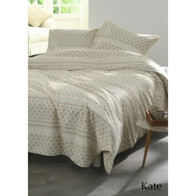Lakenset kate multi flanel tweepersoons (240x300)