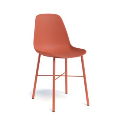 Stoel cloë - rood oranje