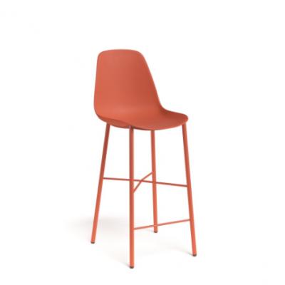 Barkruk cloë - rood oranje