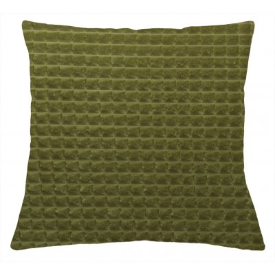 Kussen dotty gevuld groen 45x45cm