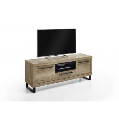 Tv-meubel 2 deuren en 1 lade