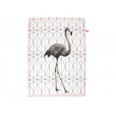 Keukenhanddoek flamingo