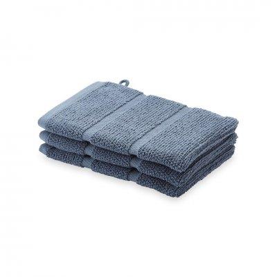 Adagio washand  steen blauw (16x21)