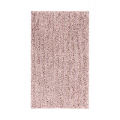 Wave badmat oud roze (70x120)