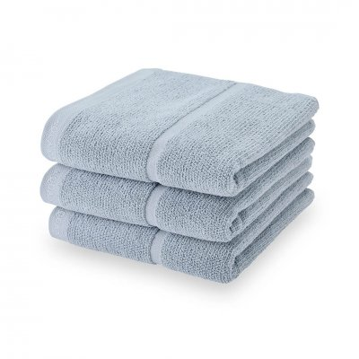 Adagio handdoek  poederblauw (55x100)