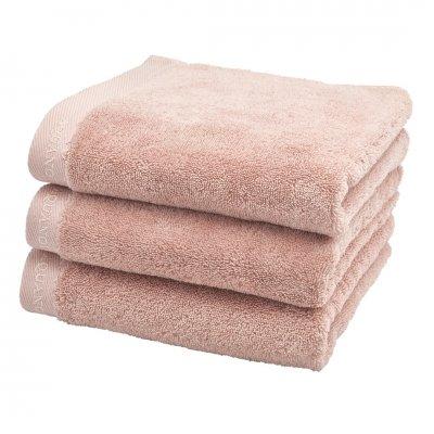Milan handdoek oud roze (55x100)