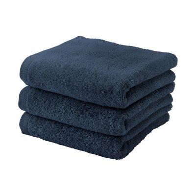 London badhanddoek donkerblauw (55x100)