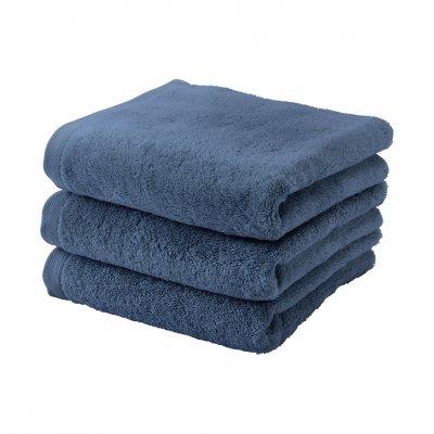 London badhanddoek blauw (55x100)