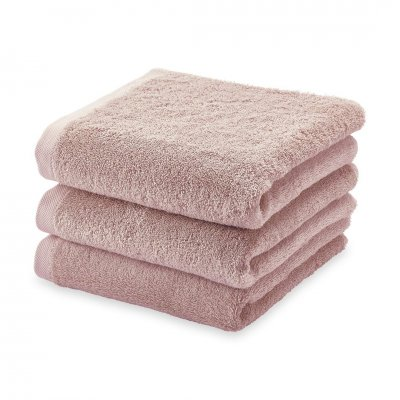 London badhanddoek dusty pink  (55x100)