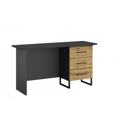 Bureau (ladenblok rechts) hout/antraciet