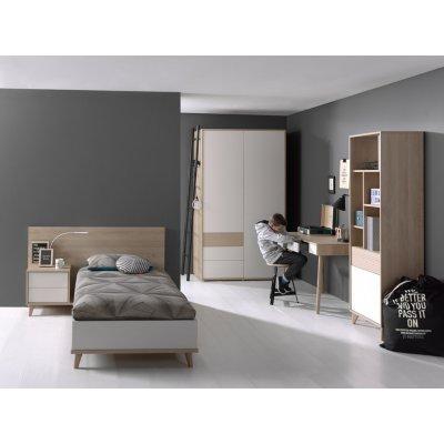 Bed houtkleur (120x200)