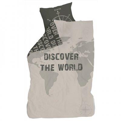 Dekbedovertrek 140x200 - discover the world