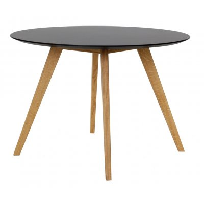 Ronde tafel zwart 110cm