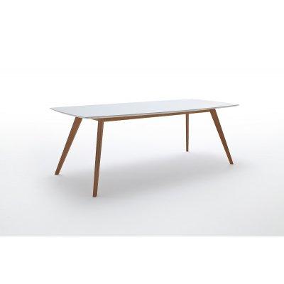 Tafel wit  (uitschuifbaar: 160 naar 205cm)