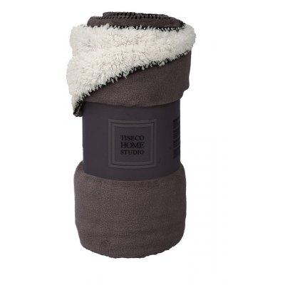 Plaid micro + sherpa bruin