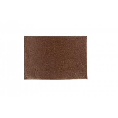 Placemat leatherlook bruin