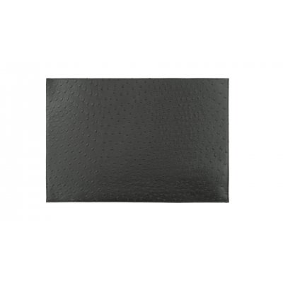 Placemat leatherlook zwart