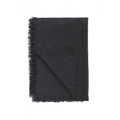 Plaid zwart (130x180)