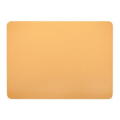 Placemat leatherlook camel