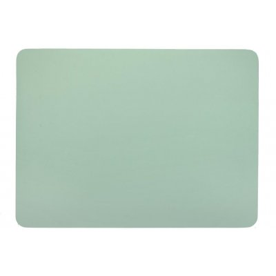 Placemat leatherlook groen