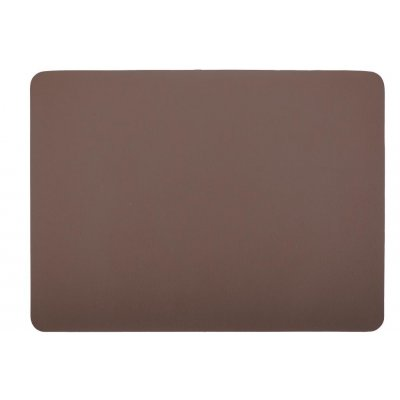 Placemat leatherlook bruin