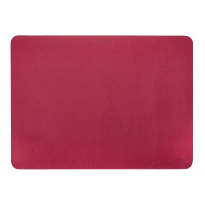 Placemat leatherlook rood
