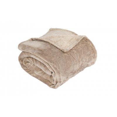Plaid bruin (130x170)
