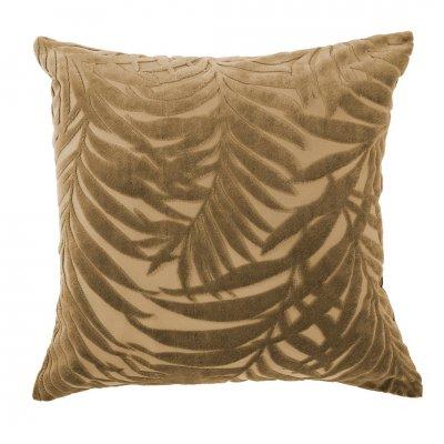 Kussen + sloop palm camel (45x45)