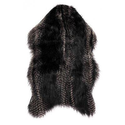 Tapijt fox zwart 50x80cm-)