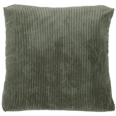 Cordovan kussn gevuld (42x42) donker groen