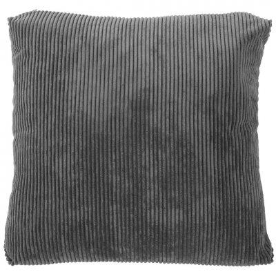 Kussen gevuld donkergrijs (60x60)