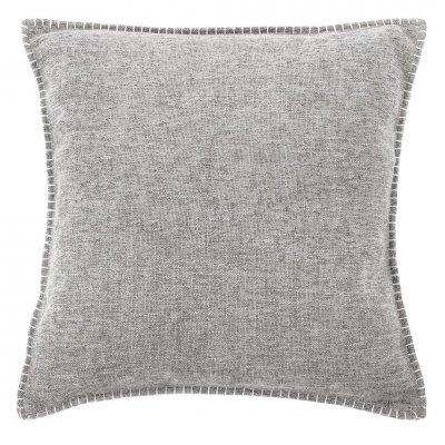 Damian kussen gevuld grijs (45x45cm)