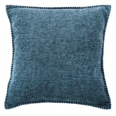Damian kussen gevuld blauw (45x45cm)