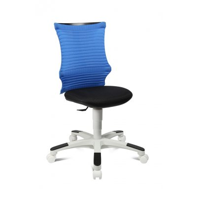 Bureaustoel junior blauw