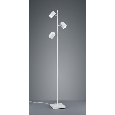 Staanlamp lagos wit (incl. led)