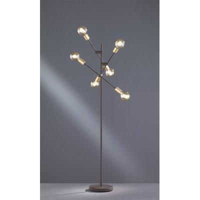 Staanlamp cross-6 zwart (excl. lamp)