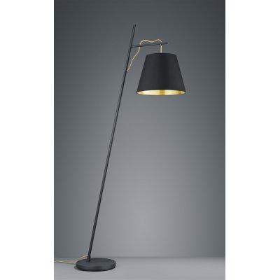 Staanlamp andreus zwart (excl. lamp)