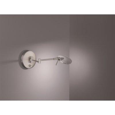 Wandlamp kazan nikkel (incl. led)