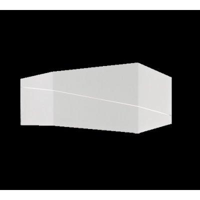 Wandlamp zorro 1 lichts wit mat