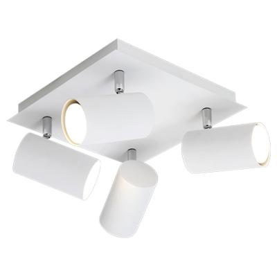 Plafondlamp marley-4 wit (excl. lamp)