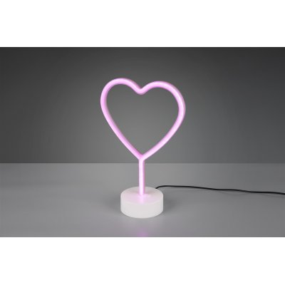 Tafellamp heart 1 lichts