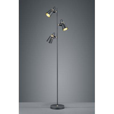 Staanlamp edward zwart (excl. lamp)