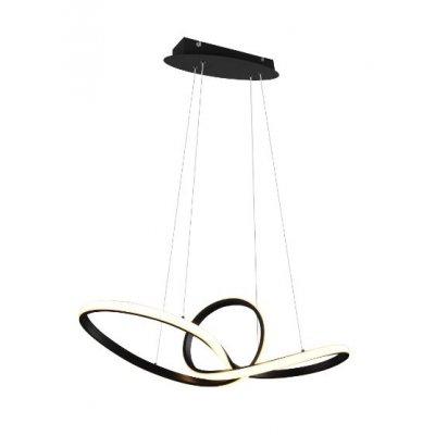 Sansa hanglamp zwart (incl.led)